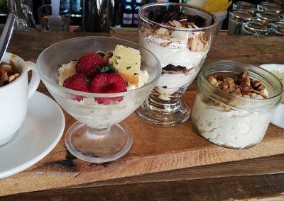 De dessertplank van restaurant Smoesjes in Utrecht