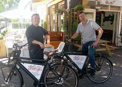 Martijn Houterman en Roy van den Brink van Restaurant Smoesjes in Utrecht