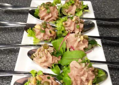 Patémousse met truffel van de catering van Restaurant Smoesjes in Utrecht